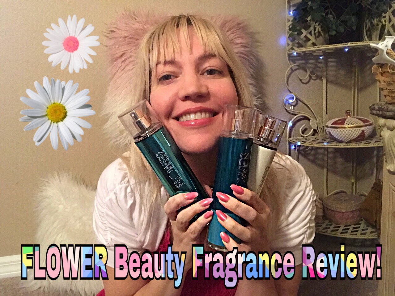 Fragrance Friday Reviewing Drew Barrymores Flower Beauty Scents